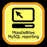 MoodleBites MySQL Reporting