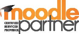 Moodle Partner logo