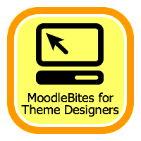 MoodleBites for Theme Designers badge